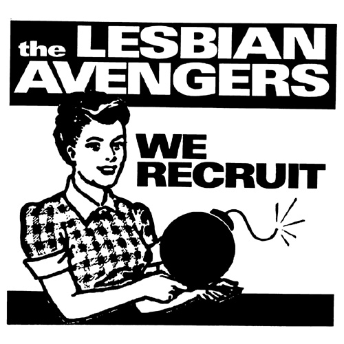 AN140 Lesbian avengers we recruit