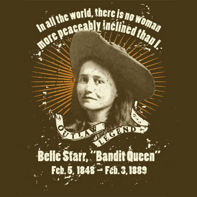 Outlaw Legend Belle Starr